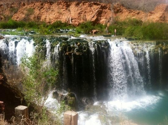 lower Navajo falls