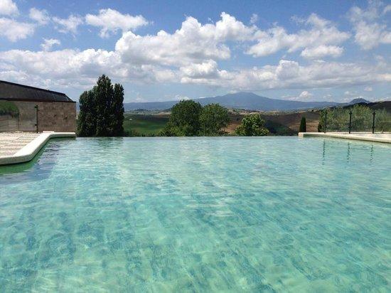 Paesaggio dal terrazzo della camera picture of fonteverde san casciano dei bagni tripadvisor - San casciano dei bagni hotel ...