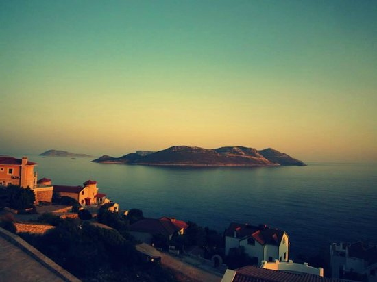 Amphora Hotel: sunset