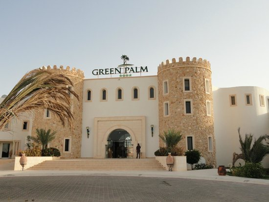 Green Palm: L'hôtel