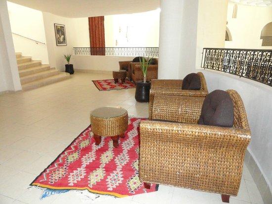 Green Palm: Palier accès des chambres
