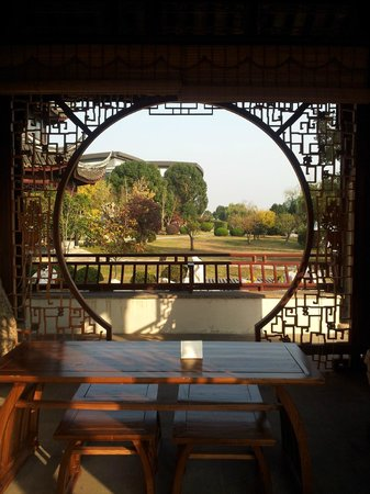 Tongli Lakeview Hotel: 酒店園區景色