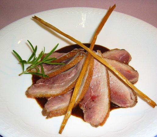 Brasserie King's Dining: 鴨のメイン料理