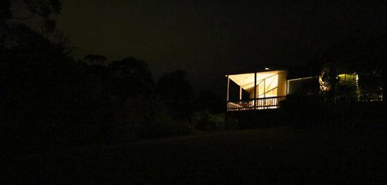 Goldsmith's in the Forest: Goldsmiths by night!