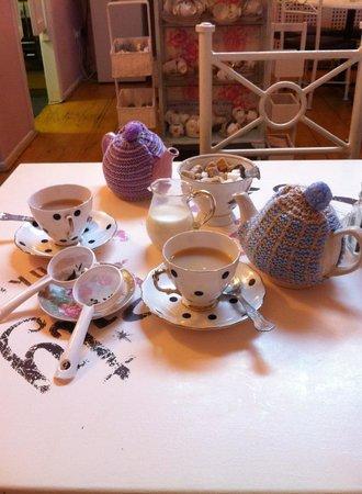 Serendipity Tea & Trinkets: Gorgeous china.