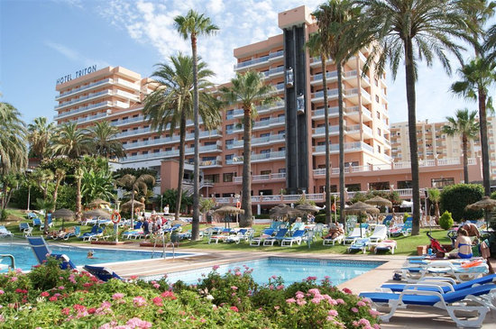 Hotel best triton benalmadena costa del sol reviews for Hotel malaga premium
