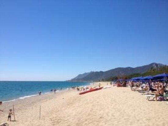 Cardedu, Italia: la spiaggia