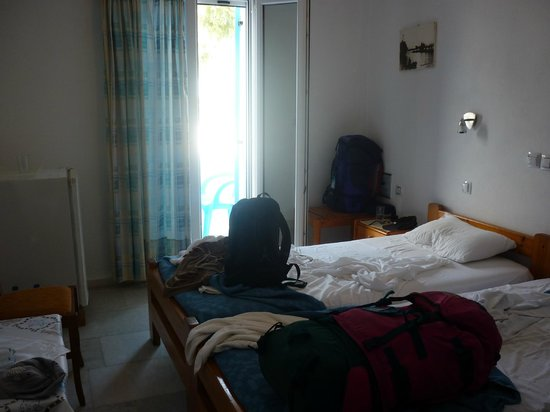 Hotel Asteria : Ooops should have tidied first!