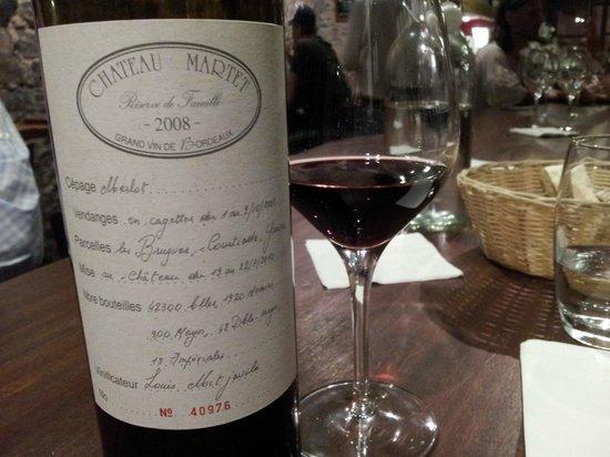 Le Rouge et Le Blanc: Wine