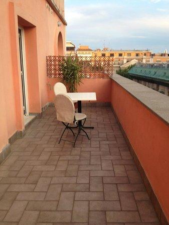 Hotel Caprice: La terrasse