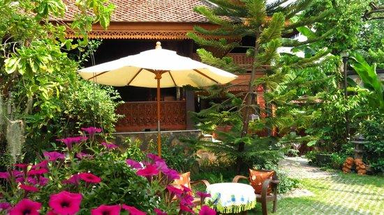Siri House: Vistas del jardín, aqui nos sentábamos a descansar cuando llegábamos de las excursiones