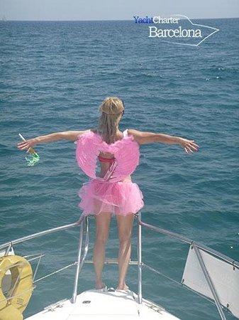 Yacht Charter Barcelona: Hen Party - 29th June 2013