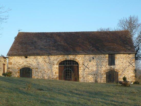 Domaine des Granges : Rénovation Grange façade Sud