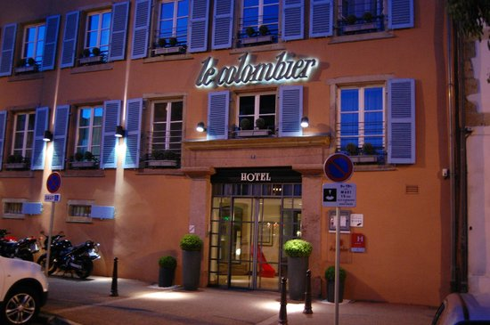 Hotel le Colombier : Entrance