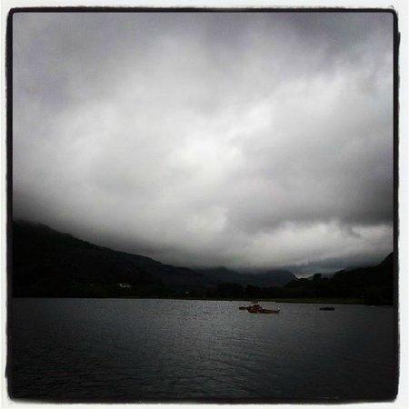 Electric Mountain: Lake at Llanberis