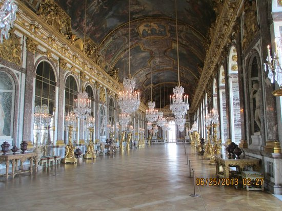 PARISCityVISION: Our tour was superb (My photo of Hall of Mirrors)