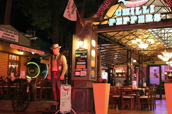Chilli Peppers Wild West B.B.Q. and Bar: welcome