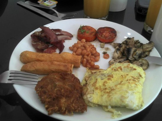 Aj's Cafe & Takeout: The full breakfast