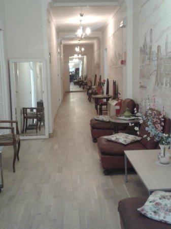 Hotel San Carlo : corridoio esterno