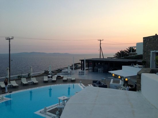 Rocabella Mykonos Art Hotel & SPA: View from our room