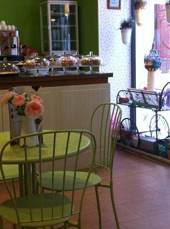 My Sweet Paradise Cupcakes: Een onderschrift toevoegen