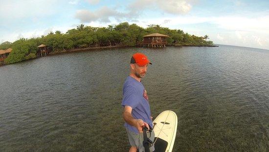 Steve's Paddle Shack: Matt Paddleboards at AKR 2