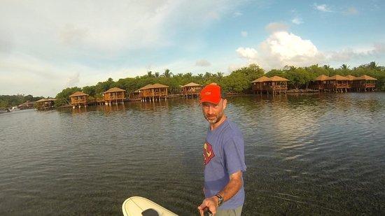 Steve's Paddle Shack: Matt Paddleboards at AKR 3