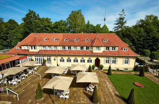 Waldhotel Stuttgart: Hotelanlage
