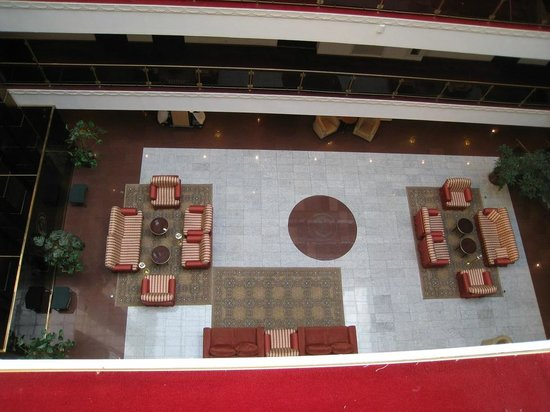 Borodino Hotel: Salón en el 5to piso