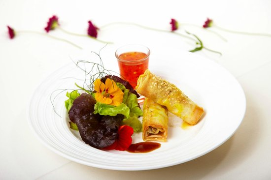 Fernhill House Hotel & Gardens : Delicious local food
