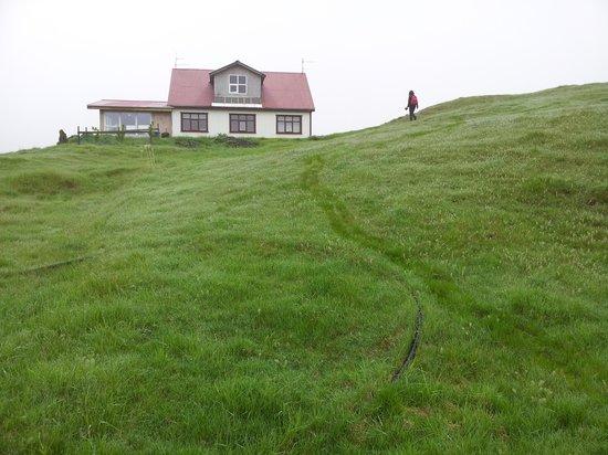Morning walk at Nypugardar Guesthouse