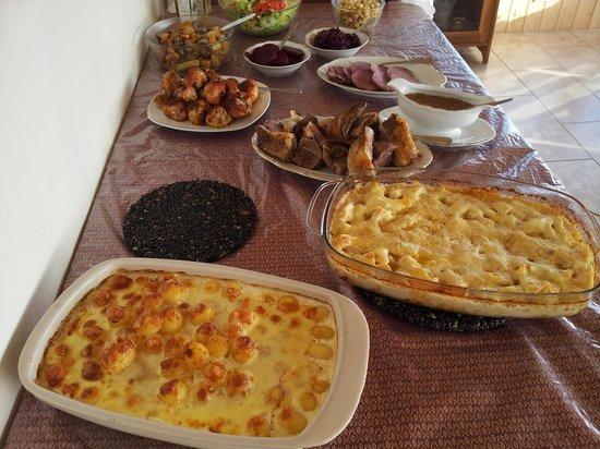 Nypugardar Guesthouse: Delicious Icelandic dinner at Nypugardar