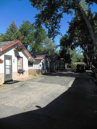 Mountain View Motel and Campground : cabins