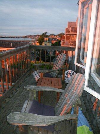 Aerie House: Balcony
