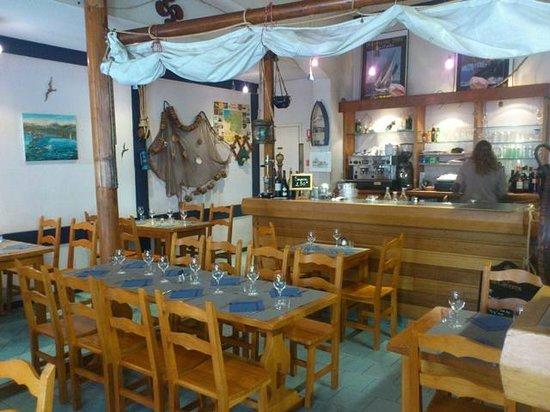Restaurant Maite, Pub Liberty's: salle interieure