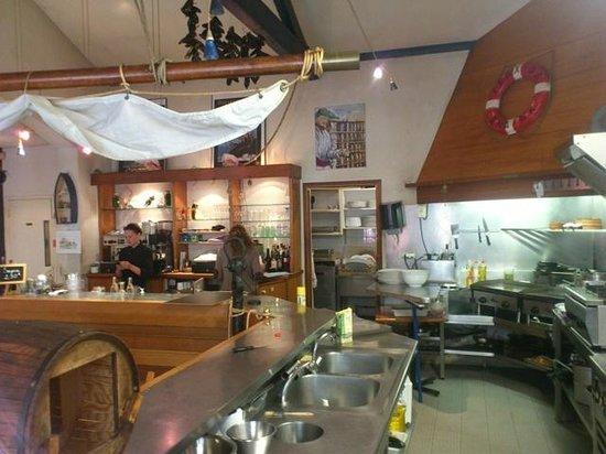 Restaurant Maite, Pub Liberty's: salle interieure 2