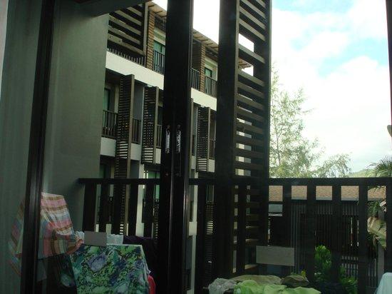 Aree Tara Resort: Balcony view 3rd floor