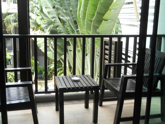 Aree Tara Resort: Balcony