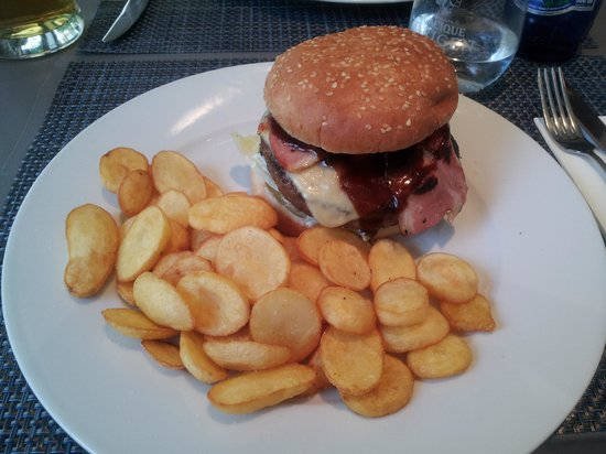 El Café de La Ópera: burger