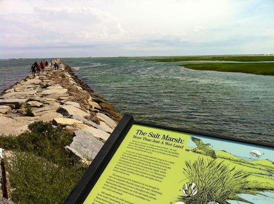Pilgrim Plaque: Steps away from small park