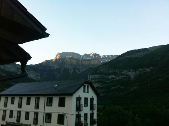 Edelweiss Hotel: View from Room 207