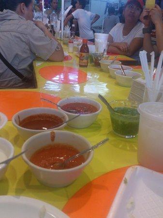 Tostadas de Coyoacan: Buen sazón en la comida