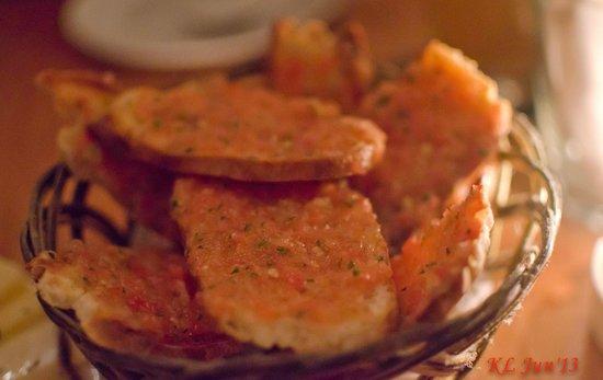 Pinchos Tapas Bar: Tasty tomatoes bread