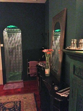 Cherrycake & Chocolate: Moroccan room