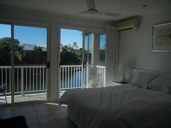 Portside Noosa Waters Resort : Townhouse 17:  Masterbedroom