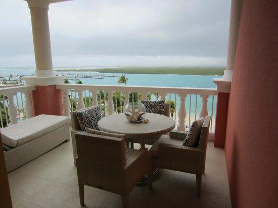 Blue Haven Resort: Room patio