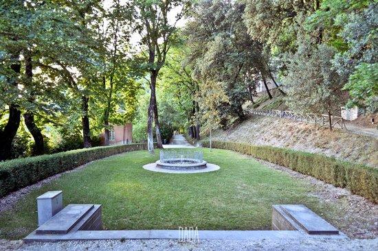 Ranghiasci Park: fontana tempietto
