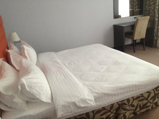 Bontiak Hotel: Кровать в номере