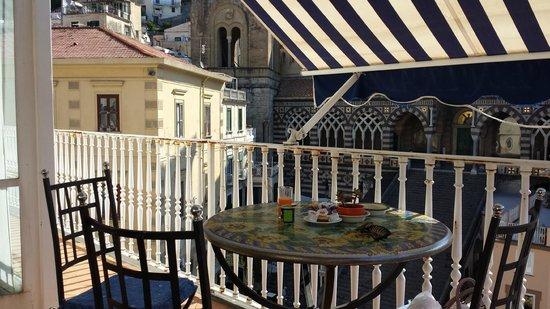 Hotel Centrale: Colazione in terrazza