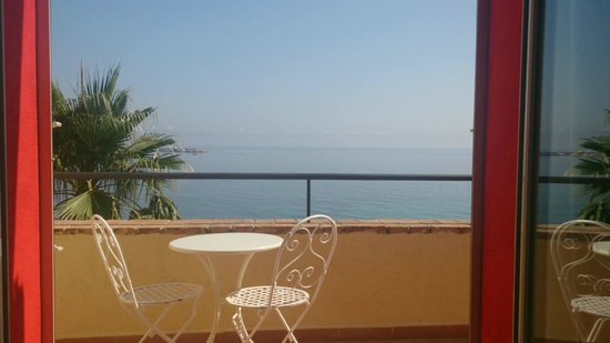 Domina Zagarella Sicily: View from our bedroom